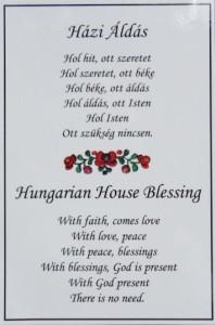 Hongaarse huisspreuk - gevonden op magyarmarketing.com