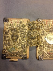 geborduurde 17e eeuwse boekband, Speciale Collecties UvA