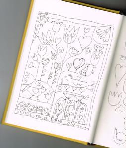 Janet Brandt's originele schets voor de SAL