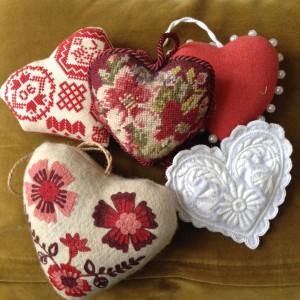 Een kleine harten verzameling