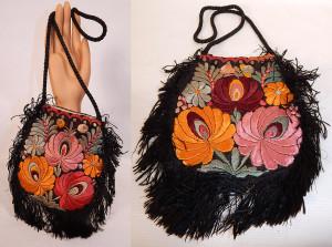 vintage boho matyo purse