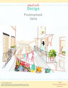 Abigail Cecile Design - Postmarked: Italia