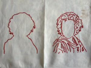 portret - twee versies