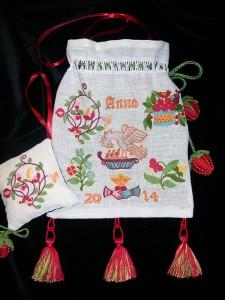 Een van de Sweetbags van Sary Maas die te zien zijn in Goed