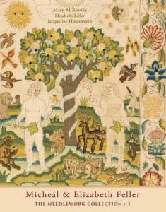 boek over de borduur collectie van Micheál en Elizabeth Feller