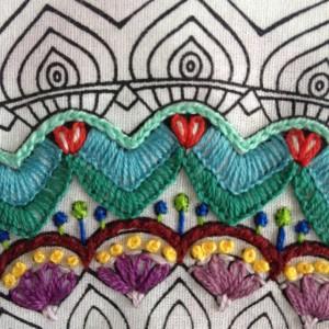 zenbroidery - mandala rand